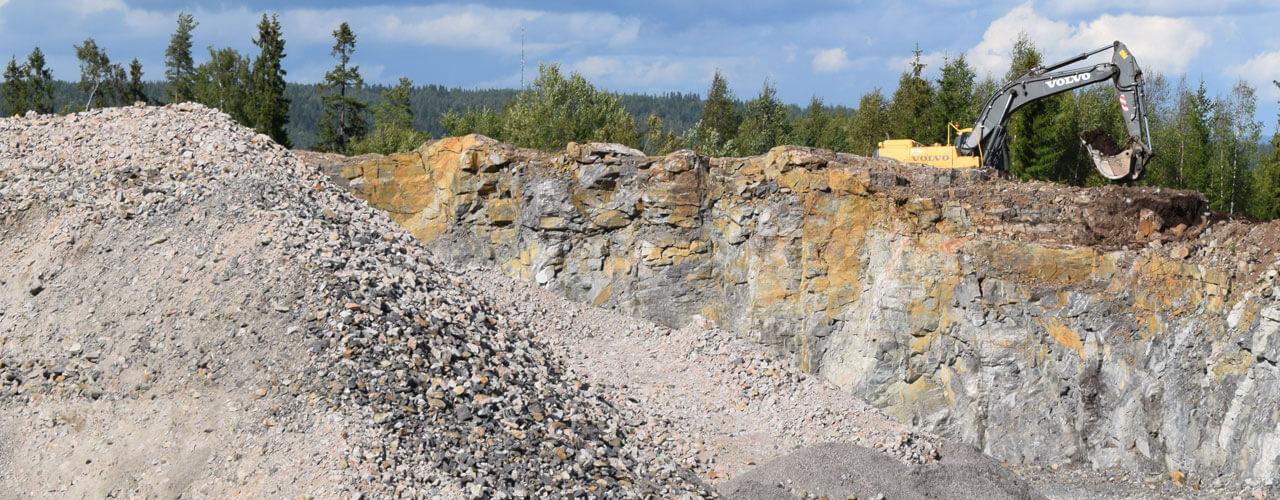 Klimatsmart berg- och grusmaterial
